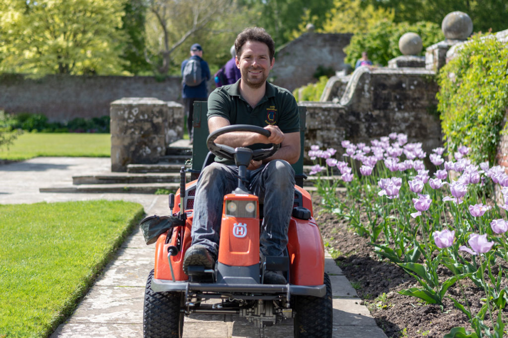 Herstmonceux Castle Gardens and Grounds have been a popular tourist destination for many years. This is largely down to a dedicated team who work hard behind the scenes to create a memorable first impression for our visitors.  We thought you might like to meet some of these people and gain an insight into their daily tasks. This month, as part of an occasional series, we join Thomas, a long term staff member and assistant to our Head Gardener.