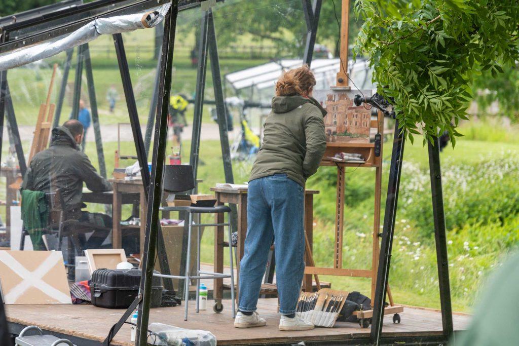Landscape Artist of the Year 2019 at Herstmonceux Castle