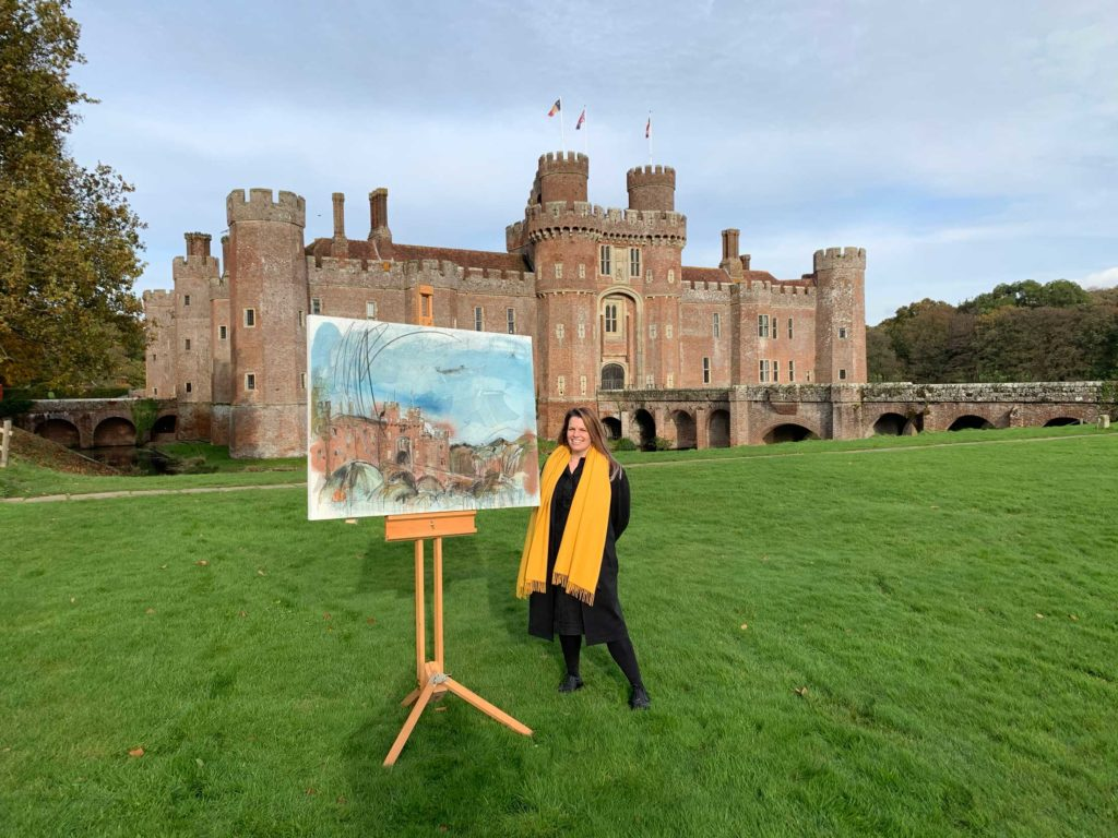 Landscape Artist of the Year 2019 at Herstmonceux Castle